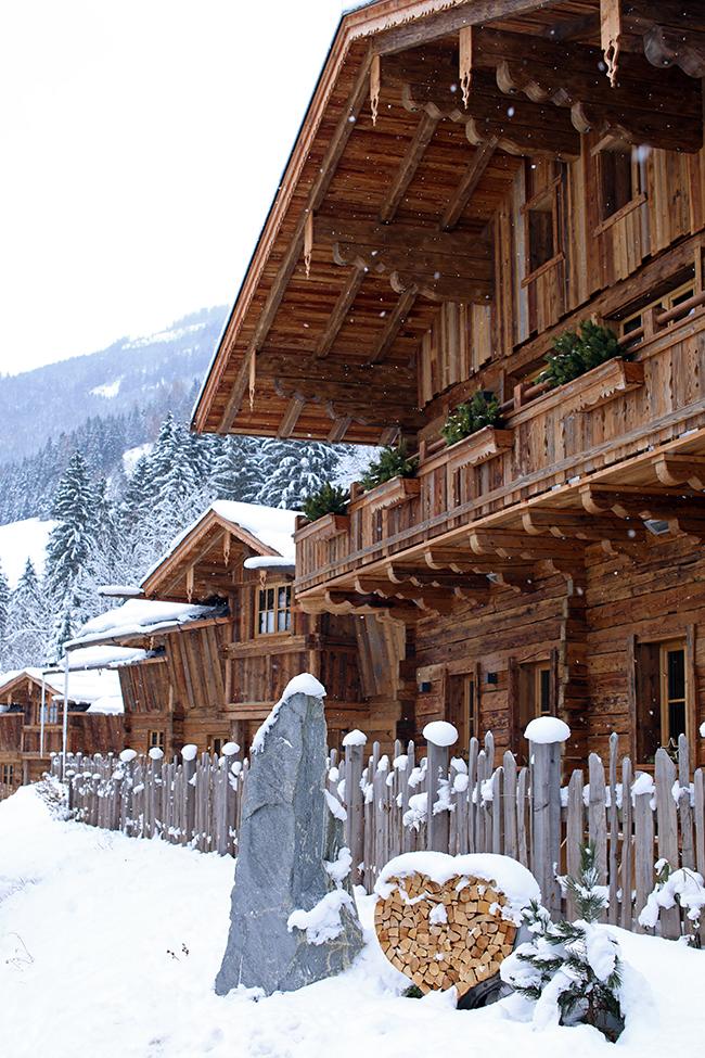 collected by Katja, Chaletdorf Auszeit, Großarltal, Winter Wonderland, Luxuschalet Österreich
