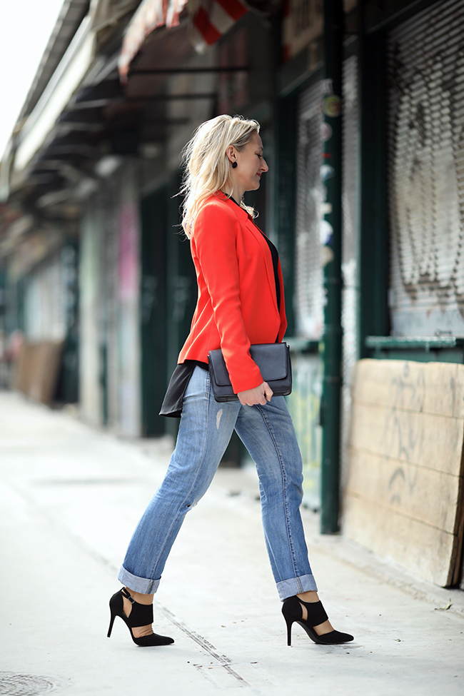 collected by Katja, Modetrends Frühling 2018, boyfriend Jeans, Blazer