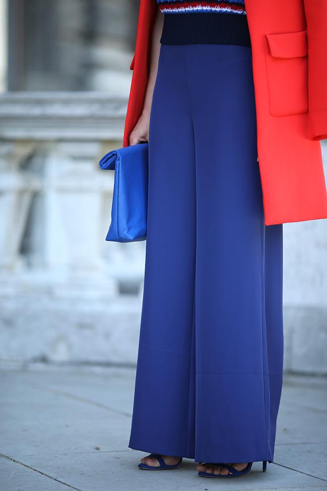 collected by Katja, maritimes Outfit, maritimer Look, Streifenshirt, Palazzo Hosen, Marlene Hosen, Modetrends 2018, Modeblog Österreich, fashionblog