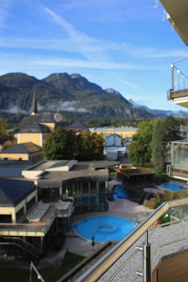 collected by Katja, lifestyle blog Österreich, lifestyle blog Austria, Thermenhotel Royal, Eurotherme Bad Ischl, Salzkammergut, Wellnessurlaub Salzkammergut, Wandern Bad Ischl, Sole, Wellness, Gesundheitsurlaub, Kurort Bad Ischl, Therme Bad Ischl, Thermenhotel, Hammam, Infinity Pool Österreich, Sky Lounge, Sky Pool, Wellness am Dach, Panoramaterrasse, Panoramasauna, Ü 40 Blog, Ü 40 Lifestyle
